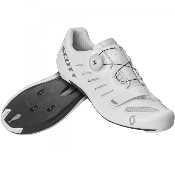 CHAUSSURE SCOTT ROAD TEAM BOA WHITE/SILVER 42.0