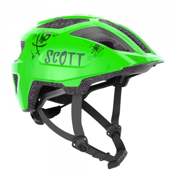 CASQUE SCOTT SPUNTO KID GREEN Speed CYCLE86