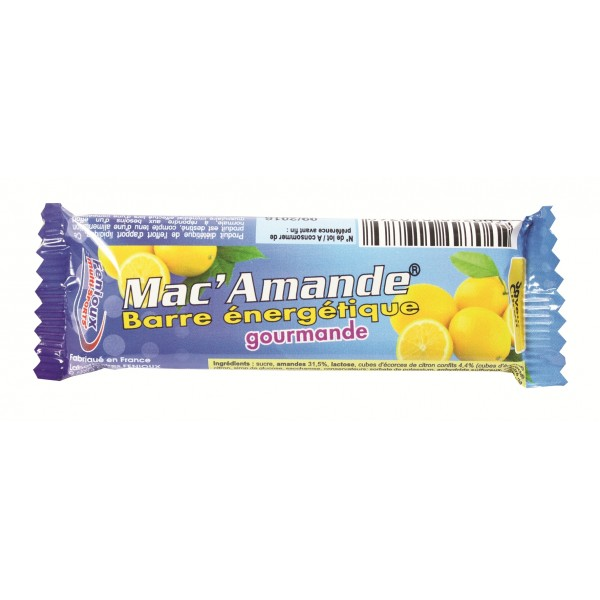 BARRE MAC AMANDE CITRON 27GR