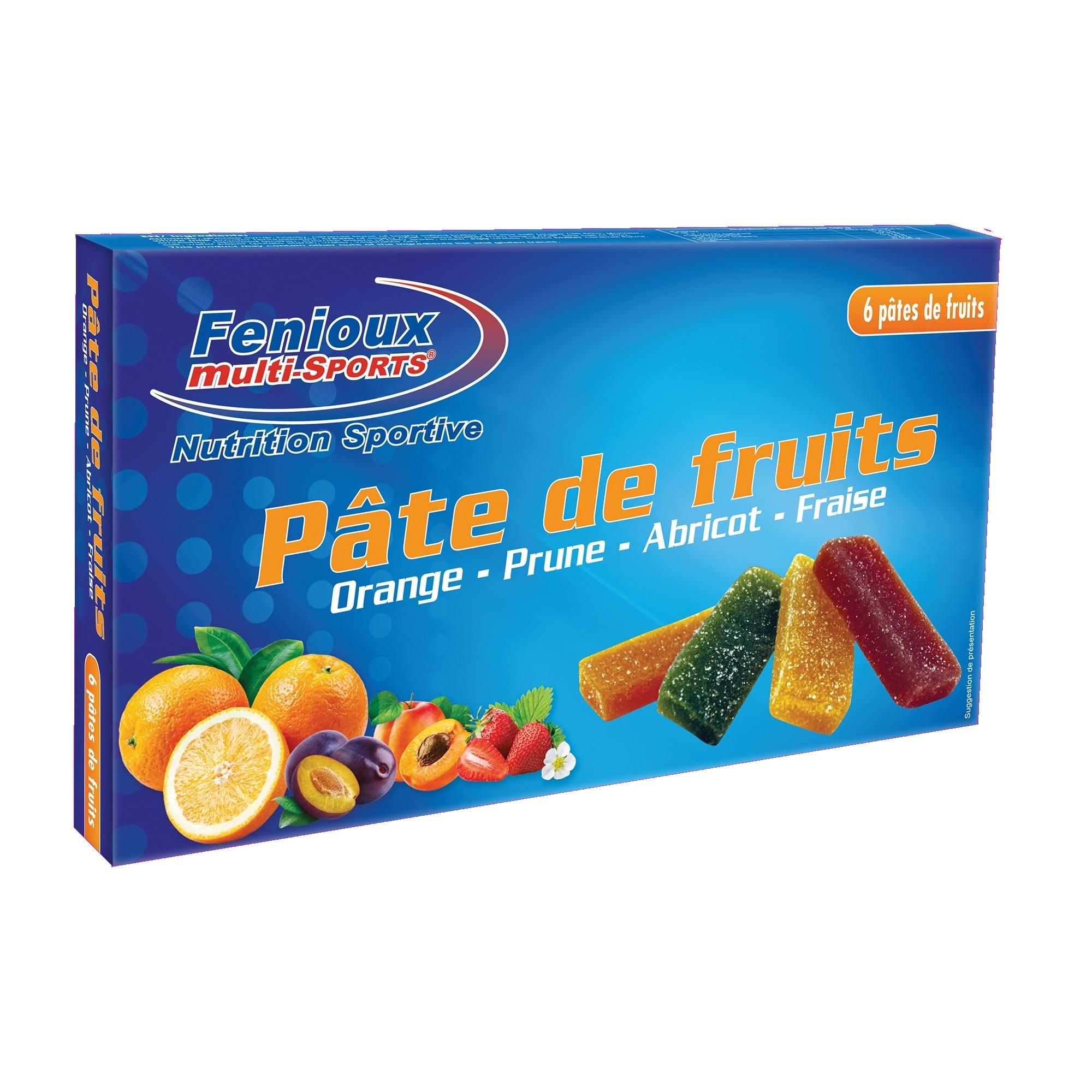 PATE DE FRUITS FENIOUX BOITE DE 6