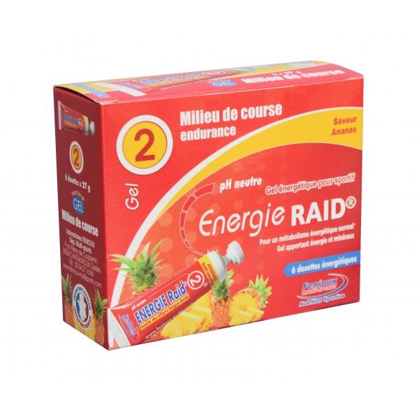 DOSETTE ENERGIE RAID ANANAS 6X27GR