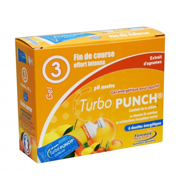 DOSETTE TURBO PUNCH 6X27GR
